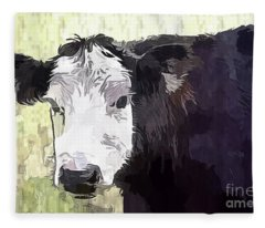 Handsome Heifer Fleece Blanket