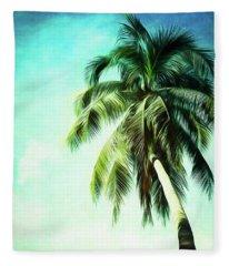 Hanging In The Breeze Fleece Blanket