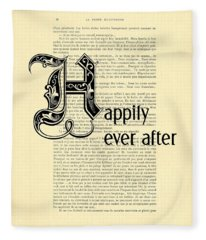 Happily Ever After Fleece Blanket