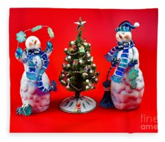 Happiness To You And Yours Fleece Blanket
