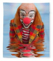 Happy Clown A173323 5x7 Fleece Blanket