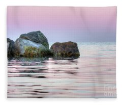 Harbor Breakwater Fleece Blanket
