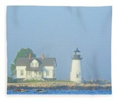 Harbor Mist Fleece Blanket