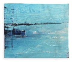 Harbor Moon Fleece Blanket