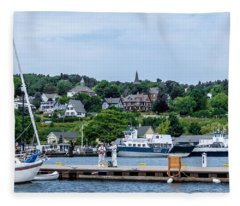 Harbor Of Color Fleece Blanket
