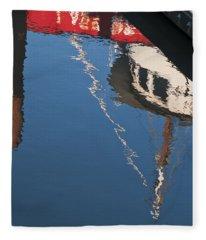 Harbor Reflections Fleece Blanket