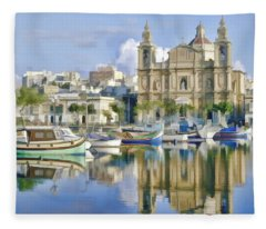 Harborside Msida Malta Fleece Blanket