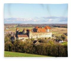 Harburg Castle Fleece Blanket