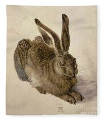 Hare Fleece Blanket