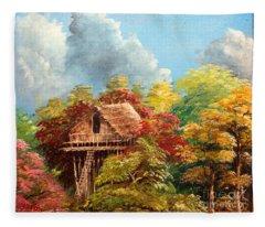 Hariet Fleece Blanket