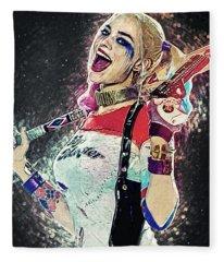 Harley Quinn Fleece Blanket