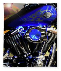 Harleys Twins Fleece Blanket