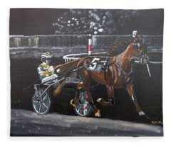 Harness Racing Fleece Blanket