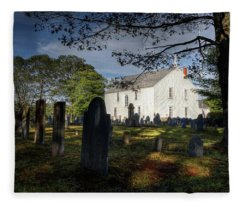 Harpswell Meeting House Fleece Blanket