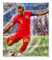 Harry Kane Fleece Blanket