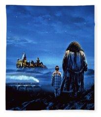 Harry Potter And The Sorcerer's Stone 2001  Fleece Blanket