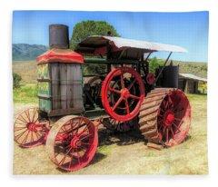Hart Parr 1911 30 60 Tractor Fleece Blanket