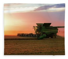 Harvest Colors Fleece Blanket