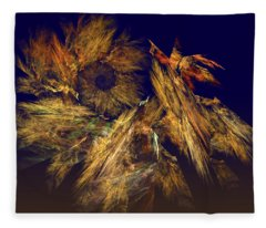 Harvest Of Hope Fleece Blanket