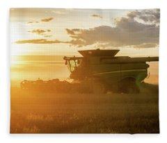 Harvest Sun Fleece Blanket