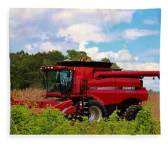 Harvest Time Fleece Blanket