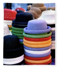 Hats, Aix En Provence Fleece Blanket