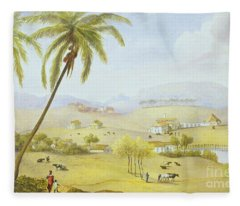 Haughton Court - Hanover Jamaica Fleece Blanket