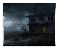 Haunted Fleece Blanket