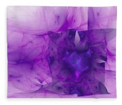 Haunting Silk Fleece Blanket