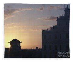 Havana Dawn Fleece Blanket
