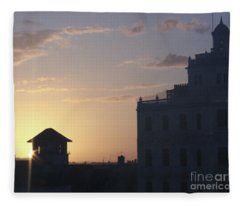 Havana Dawn Fleece Blanket