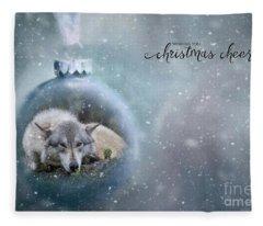 Have A Magical Holiday Season Fleece Blanket