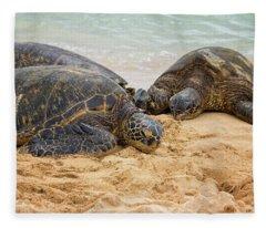 Endangered Species Photographs Fleece Blankets