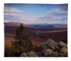 Hawk Mountain Sanctuary Fleece Blanket