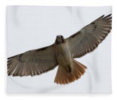 Hawk Overhead Fleece Blanket