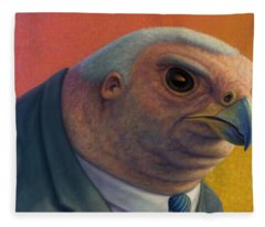 Hawkish Fleece Blanket