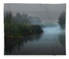 Haynes Ranch Predawn II Fleece Blanket