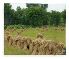 Haystacks Fleece Blanket
