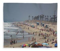 Hazy Lazy Days Of Summer Fleece Blanket