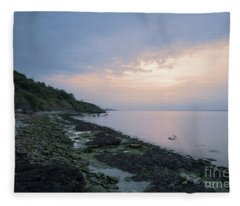 Hazy Sunset Fleece Blanket