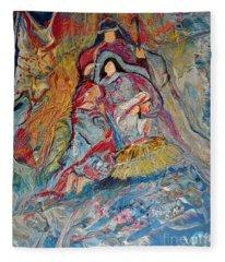 He Dwelt Among Us Fleece Blanket