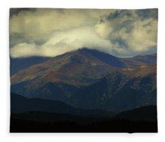 Head In The Clouds Fleece Blanket