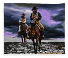 Headed Home Fleece Blanket