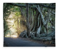 Headstone Road Fleece Blanket