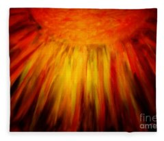 Healing Balm Of The Sun Fleece Blanket
