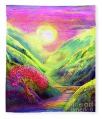 Healing Light Fleece Blanket