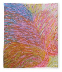 Heart Burst Fleece Blanket