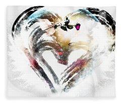 Heart Of Love Fleece Blanket