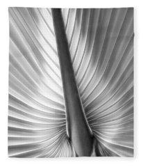 Heart Of Palm Fleece Blanket