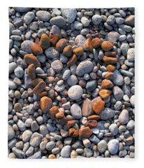 Heart Of Stones Fleece Blanket